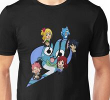 Fairy Tail Chibi Big Logo, Anime Unisex T-Shirt