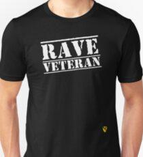 Rave Veteran - White Unisex T-Shirt