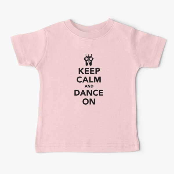 Keep Calm and listen to Trance Printed Baby Grow