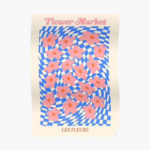 Flower Market/ Les Fleurs Poster Poster