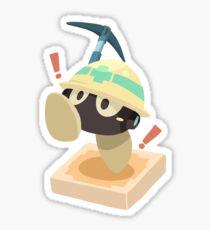 Miner Alert Sticker