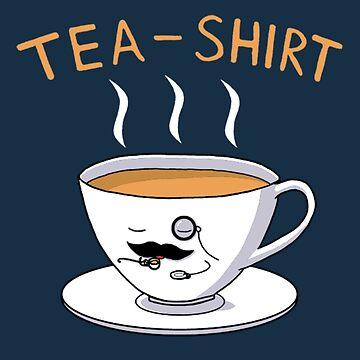 Tea Shirt by studiofryingpan