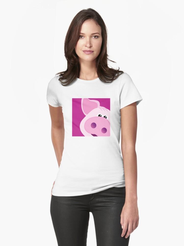 Happy Piggy - Graphic Tee by BlueShift
