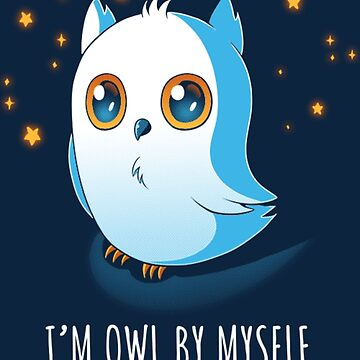 Owl by Myself by studiofryingpan