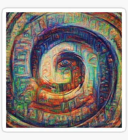 The shade #DeepDream Sticker
