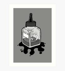 Ink Bottle Art Print