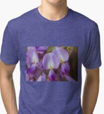 wisteria blooming Tri-blend T-Shirt