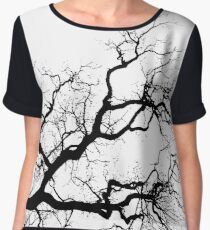 Contorted branch Chiffon Top