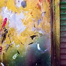 Kuwait Garage Wall 03 by Larry Costales