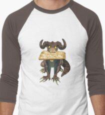Beware Of Deathclaw Men's Baseball ¾ T-Shirt