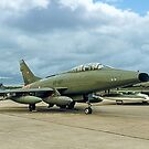 TF-100F Super Sabre 56-3927/GT927 by Colin Smedley