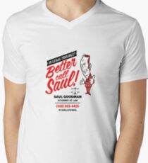 Better Call Men's V-Neck T-Shirt
