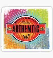 weasley & weasley authentic clothing Sticker