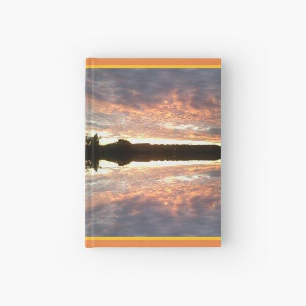 Sunset 700 Fractal A Hardcover Journal