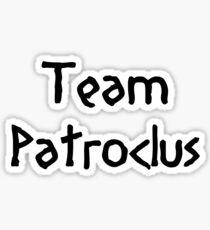 Team Patroclus (Black) Sticker