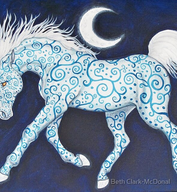 Dance Of The Moon Horse by Beth Clark-McDonal