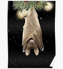 African Christmas: Bat Poster