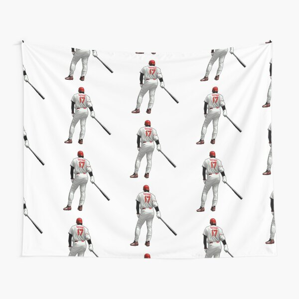Shohei Ohtani #17 Get Ready Tapestry