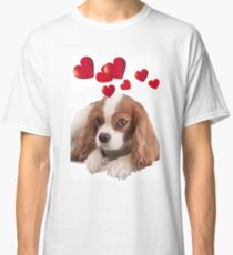 Cavalier King Charles Heart Of Love Classic T-Shirt