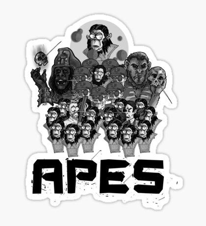 Pop: APES! Sticker
