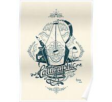 Calligraphic Poster