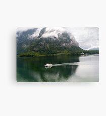 Discover Lake Hallstatt, Austria Canvas Print
