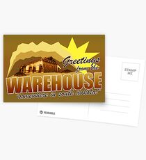 Greetings from the Warehouse Postcards