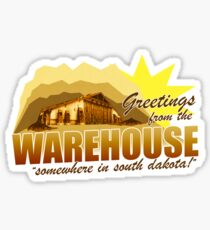Greetings from the Warehouse Sticker