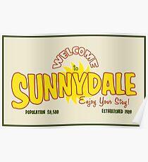 Póster Bienvenido a Sunnydale
