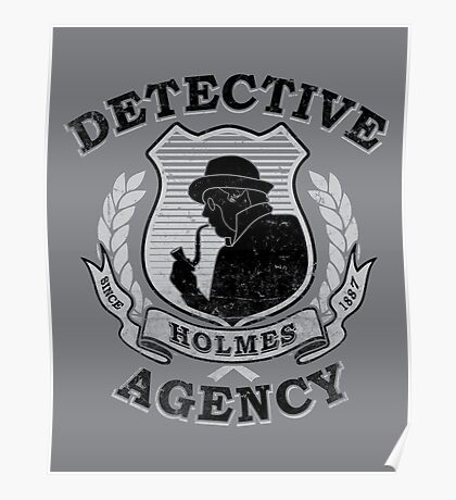 Holmes Agency Poster
