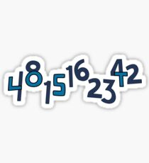 Numbers Sticker