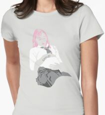 undo Womens Fitted T-Shirt