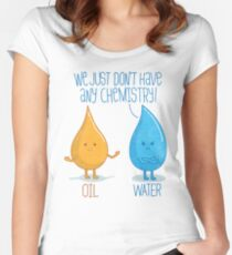 No Chemistry Women's Fitted Scoop T-Shirt