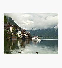 Hallstatt, Austria's Most Beautiful Lake Photographic Print