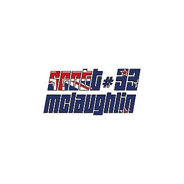 Scott McLaughlin - #33 V8 Supercars by StuartVaughan