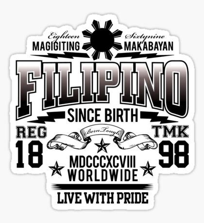 FILIPINO Sticker