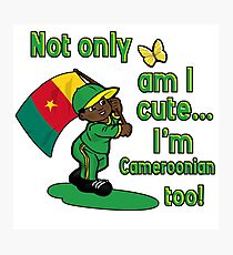 Cameroonian flag design Photographic Print