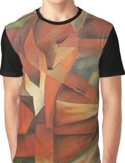 """Foxes"" -  Homage to Franz Marc (1913)     Graphic T-Shirt"