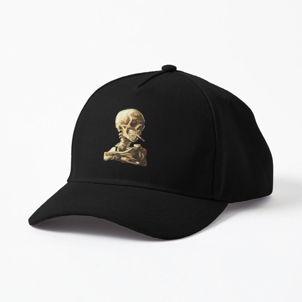 Vincent Van Gogh - Skull of a Skeleton with Burning Cigarette Cap