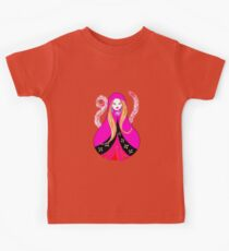 Matryoshka with Feathers Kids Clothes