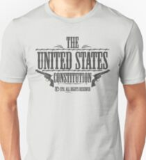 The United States Constitution - All rights reserved T-Shirt