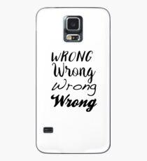 Sherlock - Falsch, Falsch, Falsch, Falsch Hülle & Klebefolie für Samsung Galaxy
