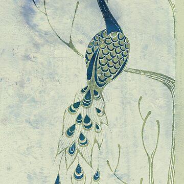 Dusky Peacock by Sloosh