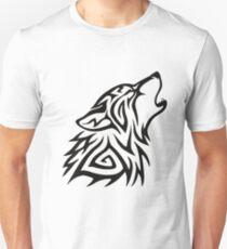 Tribal Wolf Howl T-Shirt