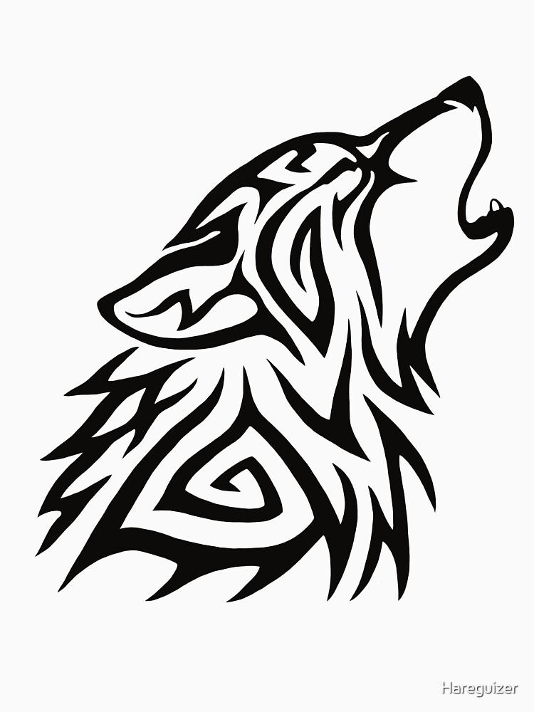 Aullido de lobo tribal de Hareguizer