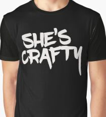 She's Crafty Graphic T-Shirt