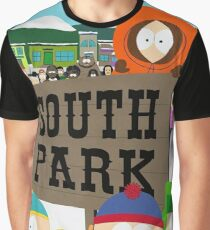 South Park Characters Graphic T-Shirt