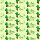 HUG ME! cactus by jazzydevil
