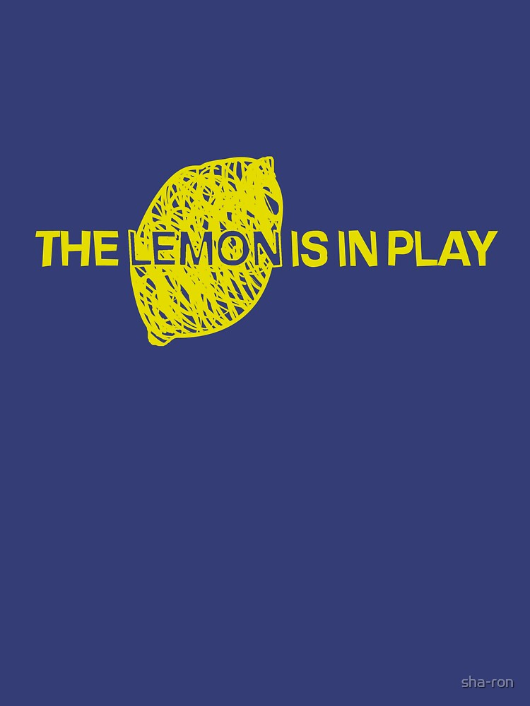 The Lemon is in Play | Unisex T-Shirt