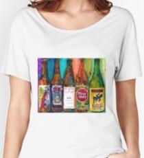 Zombie Dust, Dead Man Ale, Lunch, PlinytheEdler, Centillion Combo Fancy Beer Man Cave Women's Relaxed Fit T-Shirt